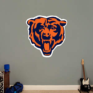 Chicago Bears Logo Fathead Wall Decal